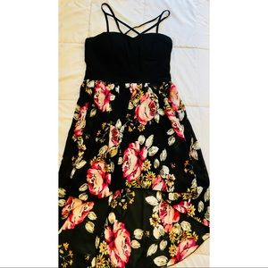 Flower Print Dress - Large From Charlotte Russe